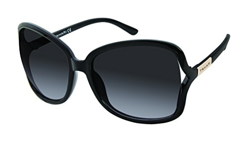 Elie Tahari Women's Th708 Ox Square Sunglasses, Black, 61 - Sunglasses Elie Tahari