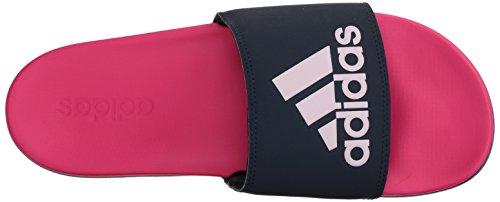 Confortables Femme Pink Comfort Adilette collegiate aero Claquettes Adidas Shock Navy Pink qYtI5q