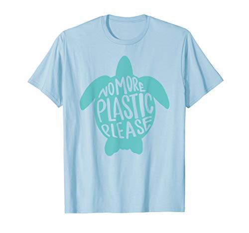 No More Plastic Please Turtle -
