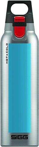 Sigg 8584 drinking bottle, 17 oz, aqua blue