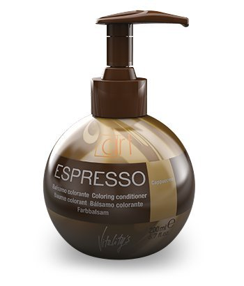 Vitality`s Espresso Keratin Hair Coloring Conditioner 6.7 Oz Cappuccino by Vitality`s Espresso