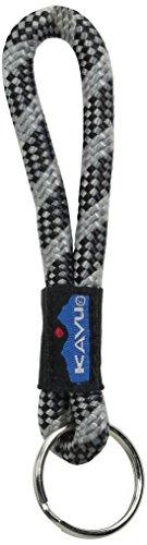 KAVU Rope Key Chain, Black Smoke, One Size