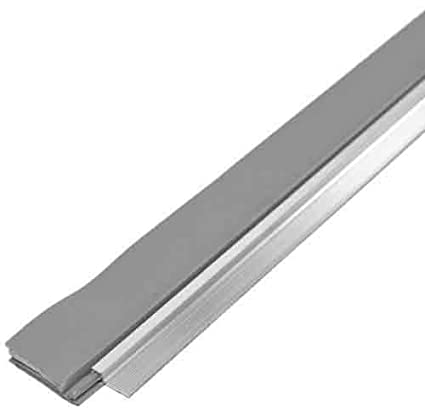 M D Building Products 43300 36 Inch Cinch Door Seal Bottom, Silver, 1