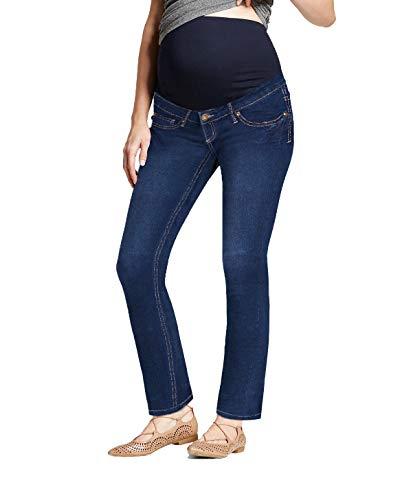 Super Comfy Stretch Women's Maternity Bootcut Jeans PM2835WCX Rinse WASH1 - Maternity Size Plus Jeans