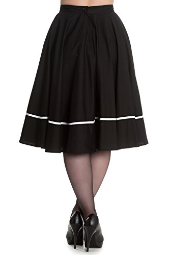 Halloween Skirt (Hell Bunny Miss Muffet Black Spider 50s Skirt (Small))
