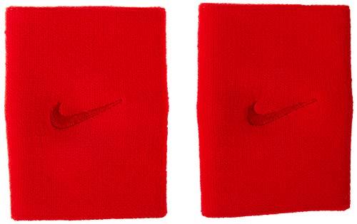 Munhequeira Grande Nba Drifit Double Wide Nike Vermelha