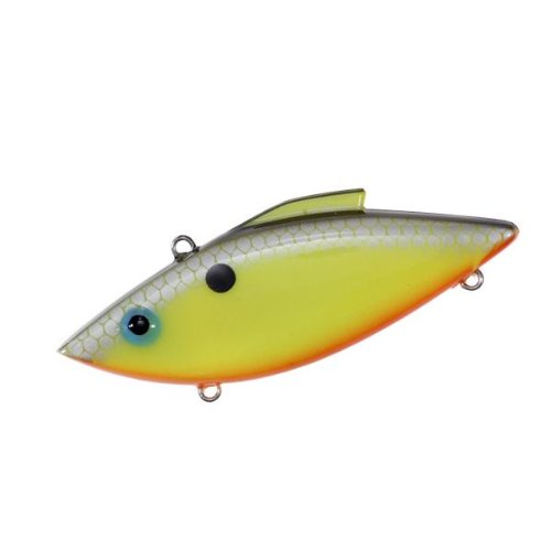 - Rat-L-Trap Lures 1/2-Ounce Trap (Chartreuse Shiner)