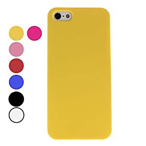 Dull Polish Style Hard Case for iPhone 5/5S (Assorted Colors) --- COLOR:Black