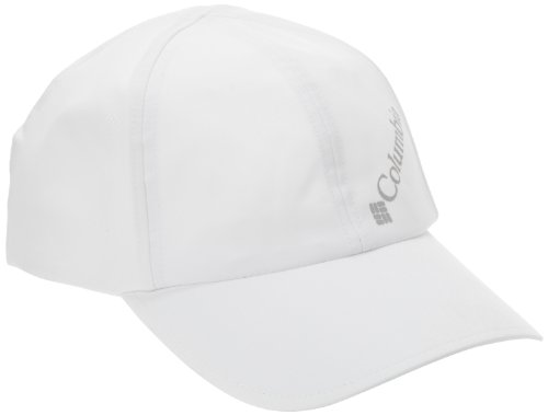 Columbia W Silver Ridge Ball Cap, White, One Size