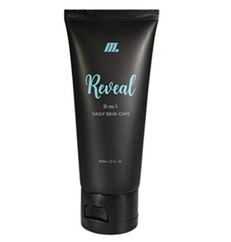 Reveal by BeneYOU - 8 in 1 Daily Skin Care Regimen - cleanser, toner, exfoliator, hydrator, brightener, age-defier, pore-minimizer, and makeup-primer (1 Pack) ()