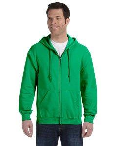 Gildan mens Heavy Blend 8 oz. 50/50 Full-Zip Hood(G186)-IRISH GREEN-2XL ()
