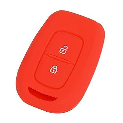 Llavero con 2 botones de silicona para Renault Duster ...