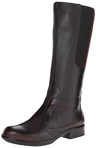 Naot Women's Viento Boot, Volcanic Red Leather, 41 EU/9.5-10 M US by NAOT (Image #1)