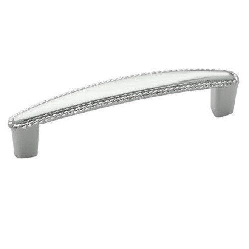 (25pcs) Satin Nickel Rope Kitchen Cabinet Handle C.C. 96mm Pull