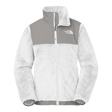 The North Face Kids Girl's Denali Thermal Jacket (Little Kids/Big Kids) TNF White XX-Small (Jacket Denali Fleece Girls)