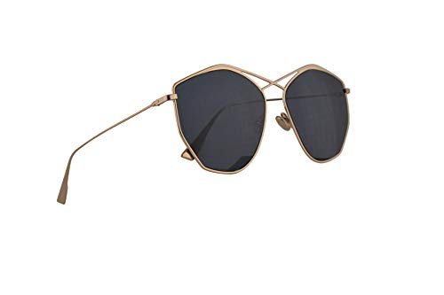 - Christian Dior DiorStellaire4 Sunglasses Gold w/Blue Avio Lens 59mm J5GKU Stellaire 4 Stellaire4