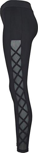 Urban Classics Ladies Ribbon Mesh Leggings Femme