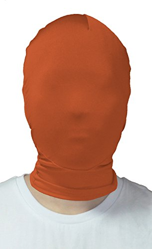 VSVO Adults Brown Full Cover 2nd Skin Mask (Adults, Brown) (Scary Maska)