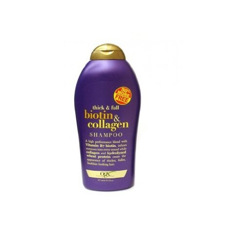Organix Biotin and Collagen Shampoo Bonus, 19.5 Ounce