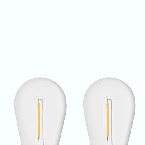 SUNTHIN 2 Pack LED S14 Replacement Bulbs 1 Watt 2700K Warm White LED Lights Bulb, Replacement for SUNTHIN Solar LED…