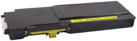 SuppliesMAX Compatible Replacement for CIG200738P Yellow Toner Cartridge 9000 Page Yield Equivalent to Dell 331-8430