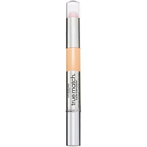 L'Oreal Paris Cosmetics True Match Super-Blendable Multi-Use Concealer Makeup, Fair W1-2, 0.05 Fluid Ounce