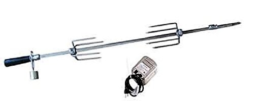Delsol Delta Heat Gas Grill Rotisserie Kit for 40