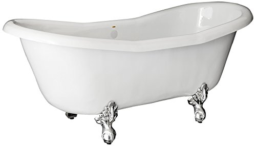 Restoria Bathtubs The Duchess Bathtub Chrome Clawfeet No Drilings