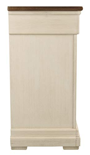Signature Design by Ashley Bolanburg Dresser, Antique White
