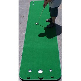 Big Moss Golf COMPETITOR Pro 3' X 12' Practice Putting Chipping Green w/ 3 Cups by Big Moss Golf (Image #1)