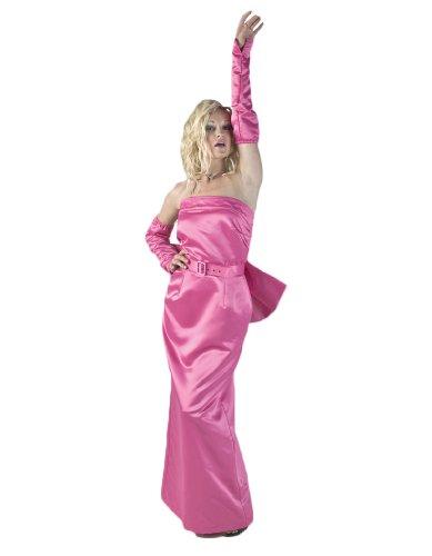 Women's Marilyn Monroe Diva Costume Dress Large Pink -