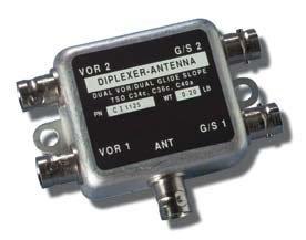 Comant CI-1125 Diplexer Dual VOR/Dual GS by Comant