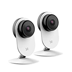 In the box: AI featured security camera YI home camera 3 With 1080P -FHD resolution, 107 Degree wide-angle, baby-crying detection, magnetic base 7. 8 inch USB a to Micro USB cable, 100-240v 1A adaptor, user manual.