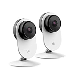 YI 2pc Smart Security Camera 3, AI-Power...