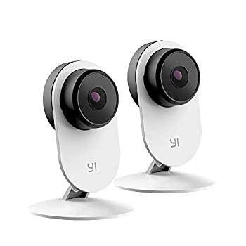 YI 2pc Smart Security Camera 3, AI-Powered 1080p Home Camera System IP Cam with 24/7 Emergency Response, Human Detection, Sound Analystics, 2.4G Wi-Fi, App for Nanny Monitor – Works with Alexa Amazon Camera and Photo Electronics Surveillance Cameras Video Surveillance