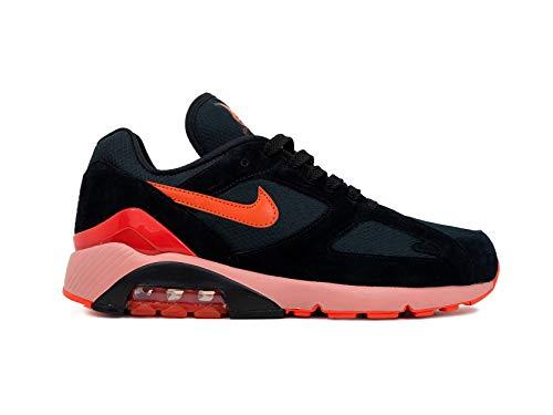 Red Sneakers 180 black Orange Multicolore team university Homme Air Nike 001 Basses Max qPU0a