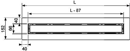 660005 Drainline setaccio per corpo canale Tece