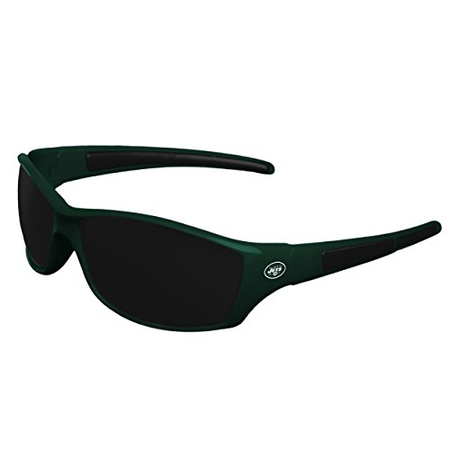 FOCO NFL New York Jets Sports Fan Sunglasses, Team Color, One Size