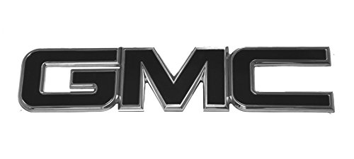 2007(NBS)-2016 GMC Sierra 2500 3500 HD Black/Polished Front Emblem By AMI (Mfg Sales Billet)