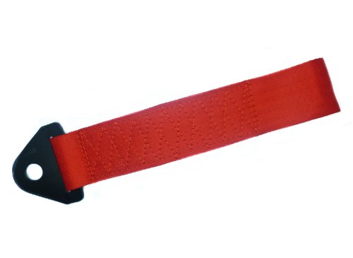 Race / Drift / Drag / Street - Vehicle Tow Strap - Color: Red