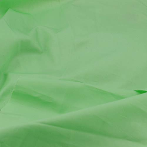 Pre-Cut Quilting Cotton Twill Light Green Candy Color Fabric,Good Quality Craft Cloth,DIY for Sewing Crafting 61
