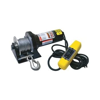 Dayton Electric Winch 1/2HP 115VAC on