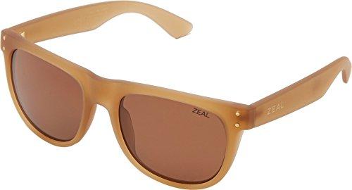 Zeal Optics Unisex Ace Desert Sand W/ Polarized Copper Lens - Sunglasses Warranty Zeal