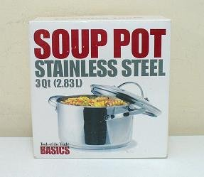 Tools of the Trade Stainless Steel 3Qt Soup