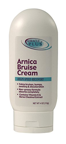 Miracle Plus Arnica Bruise Cream,4 oz