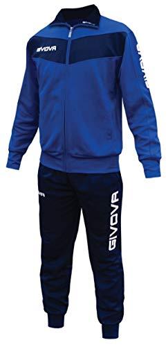 Rosso Menitashop Giallo Givova Visa Fitness Tuta Azzurro Calcio Nero Bianco Donna Blu Uomo blu qLSUpzVjMG