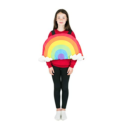 Bodysocks Kids Rainbow Fancy Dress Costume ()