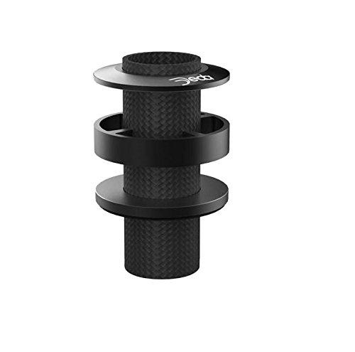Deda Alloy HSS Headset Spacer 3 Piece Multi Pack-Black by Deda (Image #1)
