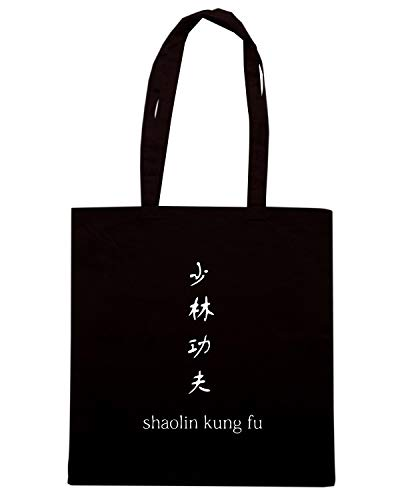 TAM0161 Speed Nera Borsa SHAOLIN Shopper Shirt SwHqRf