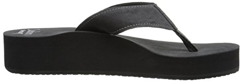 Reef Cushion Butter - Sandalias Mujer Negro (Black)